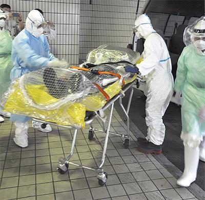 エボラ対策盤石に