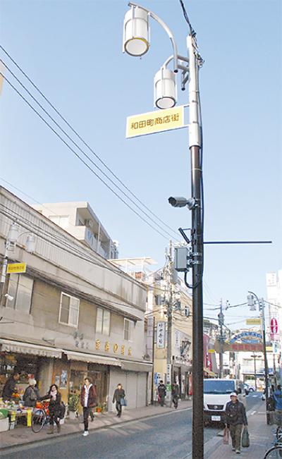 街路灯をLED化