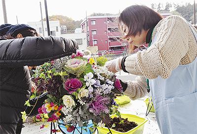 「花溢れる街」へ第一歩