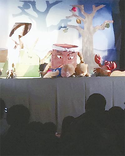上質な人形劇を鑑賞