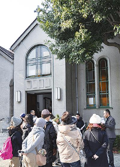 歴史的建造物を公開