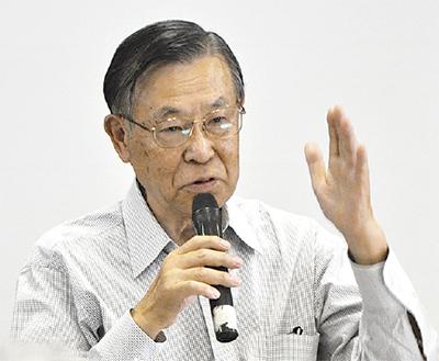 鈴木隆雄さんが講演会