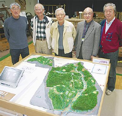 70年前の上菅田村再現