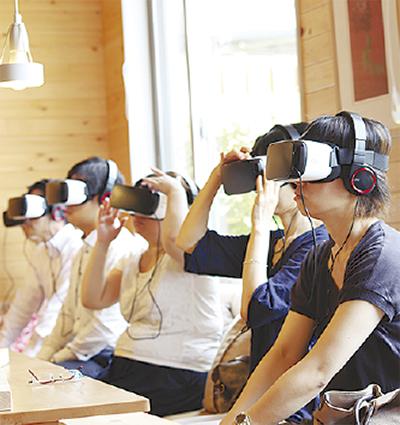 VRで認知症体験