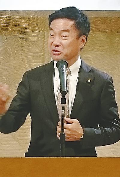 松沢氏が講演