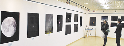 桜高9部が展示発表会