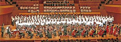 区の歌合唱団が10周年