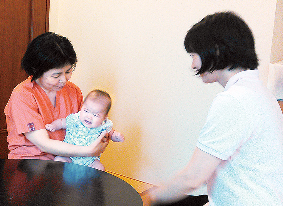 訪問母乳相談が好評
