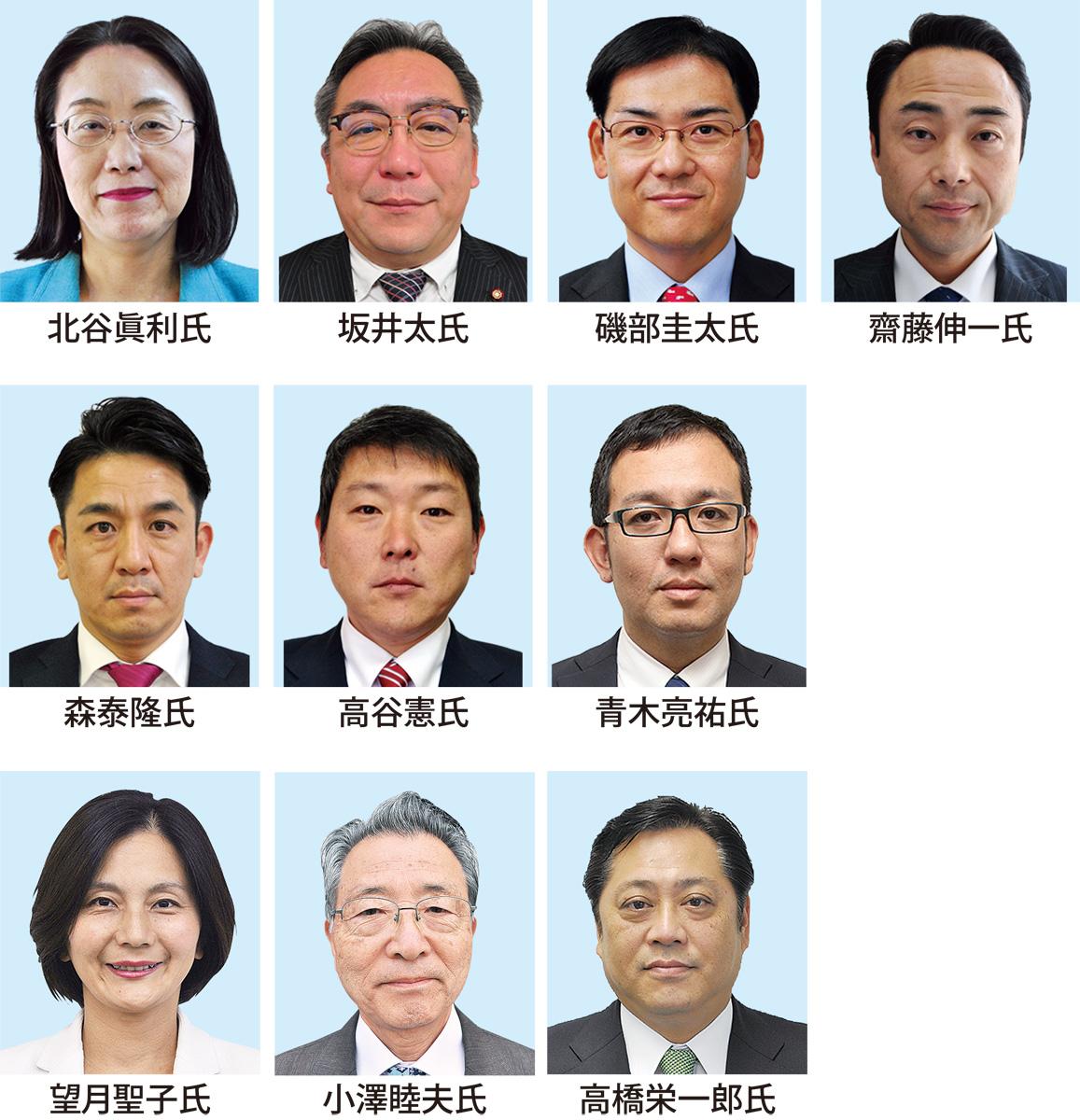 市議選、7人が立候補表明