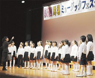 5校263人が、明るくステージを彩った