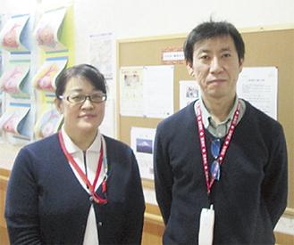 左から講師の濱田氏と大石氏