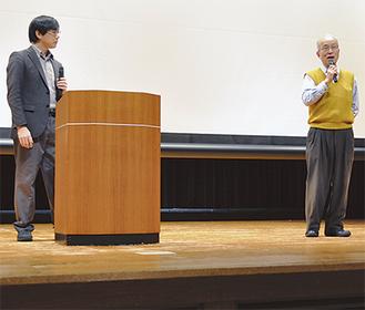 かさこさん(左)、小倉さんの対談