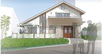 モデルハウスのイメージ図