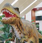 恐竜も登場する