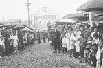 昭和30年ごろの本町通商店街