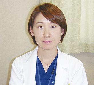 糖尿病外来を担当する瀬上医師