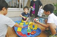 療養小児用に遊び場新設