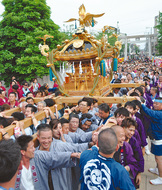 伝統の祭り今週末に本番