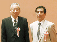 田祭り演者2人に県表彰