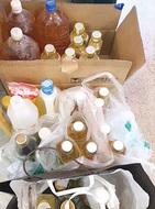 区役所で廃食油回収始まる