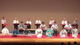 日本の伝統芸能一堂に