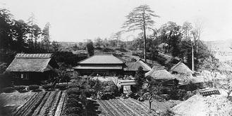 昭和12年の北寺尾交差点付近(高田さん提供)