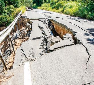 地震が物語る被害の恐ろしさ