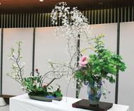 春の茶華道展