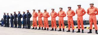 発足した水上消防救助部隊