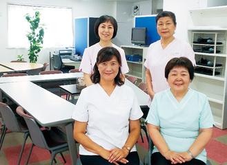 常駐する看護師
