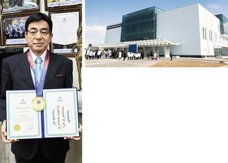 日本モンゴル教育病院と篠原さん