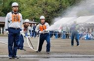 自衛消防力を競う