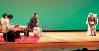 日本が誇る伝統芸能を楽しめる舞台(昨年)