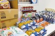 外国人世帯に食糧品配布