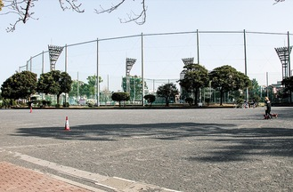 会場となる潮田公園