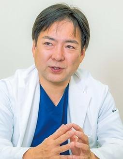 センター長の田村睦弘医師
