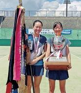 高校総体テニスで日本一