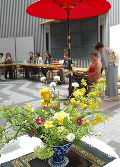 秋を彩る茶華道展