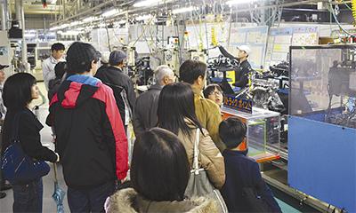 日産横浜工場を一般開放
