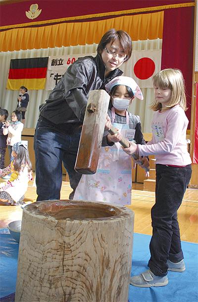 ドイツ児童と異文化交流