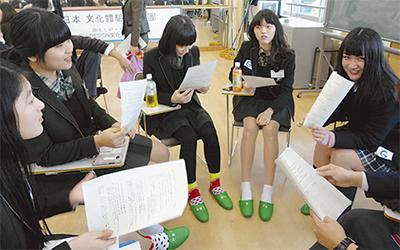 韓国姉妹校と交流