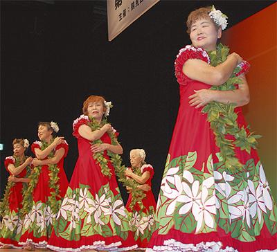 高齢者、元気に文化祭