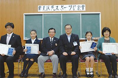 個人4人と2団体が受賞