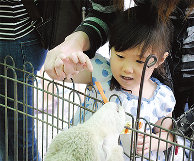 「鶴銀動物園」に3千人