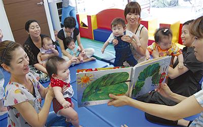 子育て団体とナイス協力
