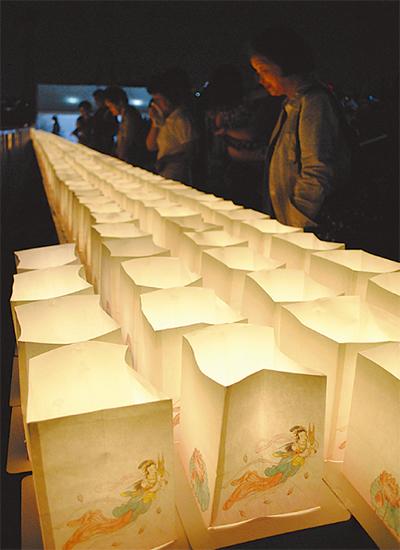 1千個の灯りで先祖供養