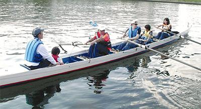 子どもらボート体験