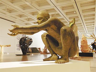 国展・彫刻部で最高賞