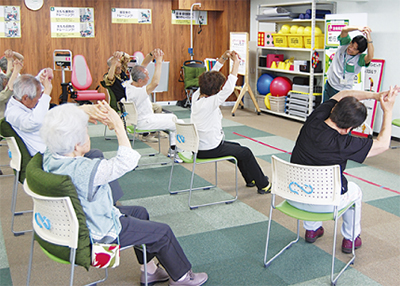 無料運動教室で介護予防