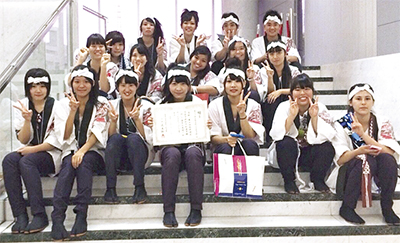 関東大会で銀賞